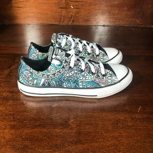 Converse All Star Cultural Print Sz 2 youth